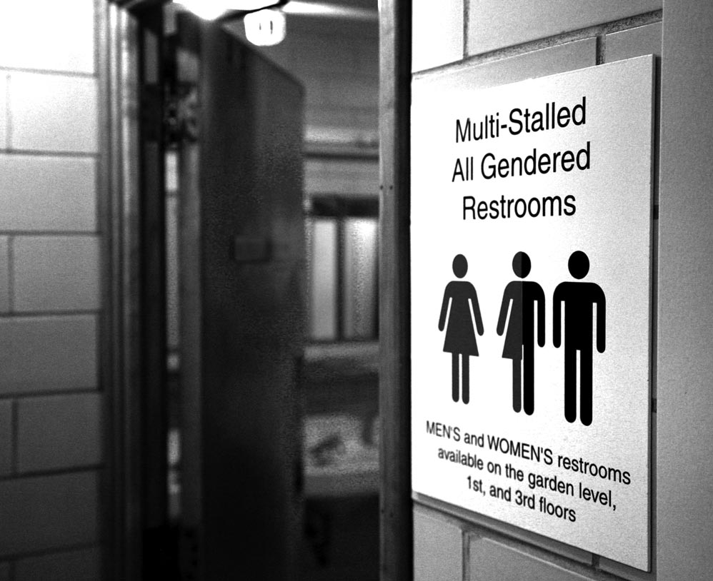 the signs they should be changing bringing all gender bathrooms to the graduate center the advocate - Multi Bathroom 2016