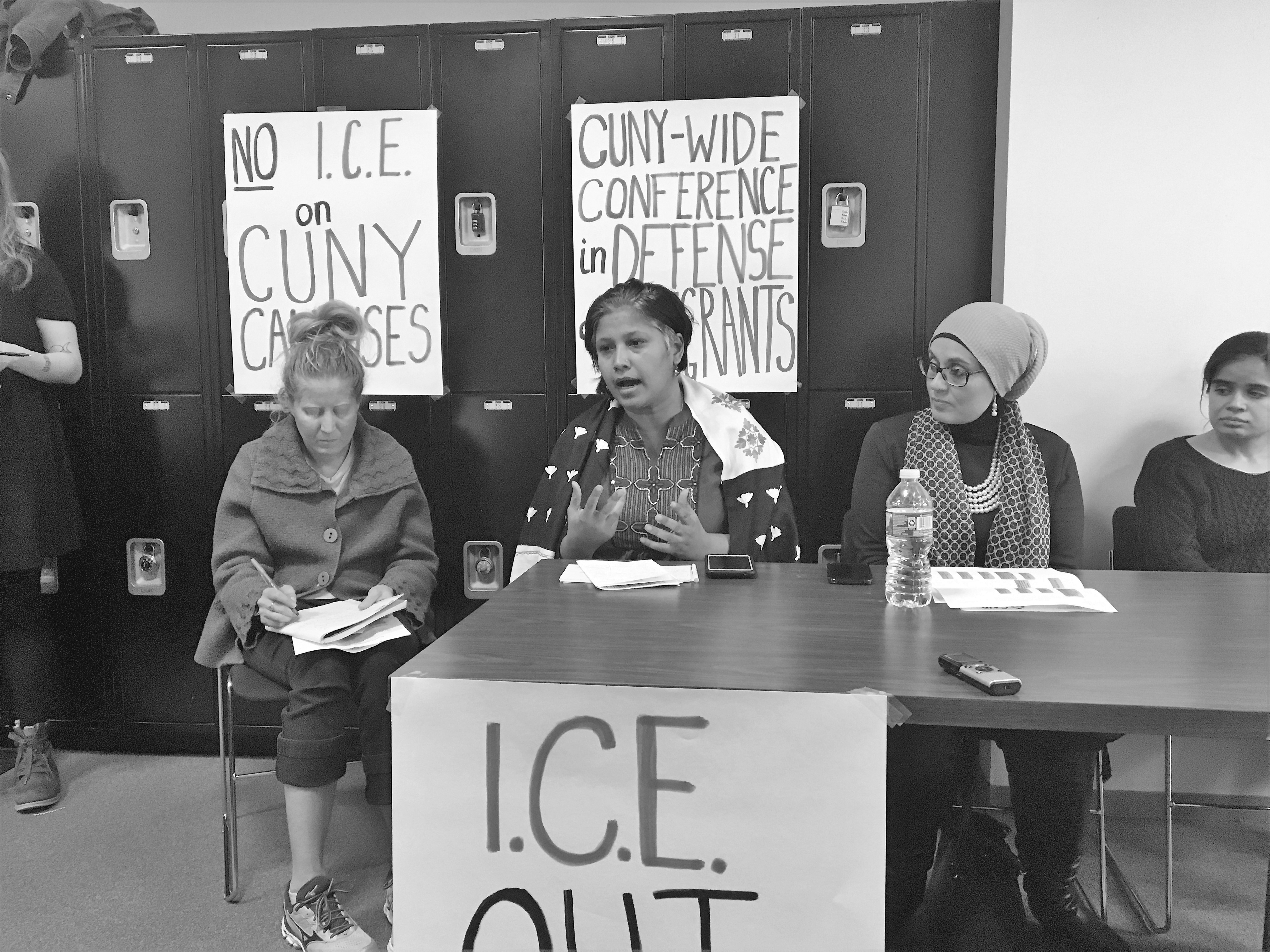 CUNY-Wide Conference in Defense of Immigrants Held at Grad Center