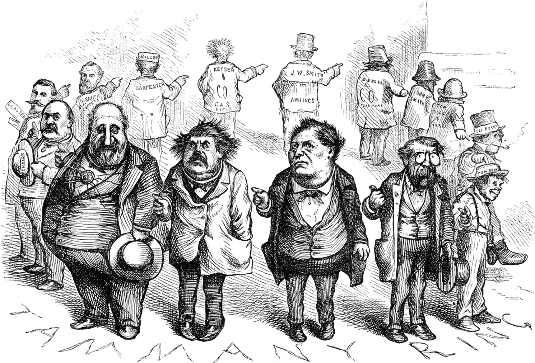 Take a cue from Thomas Nast and expose the ring of corruption in academia before it becomes another Tammany Ring – Source: USF